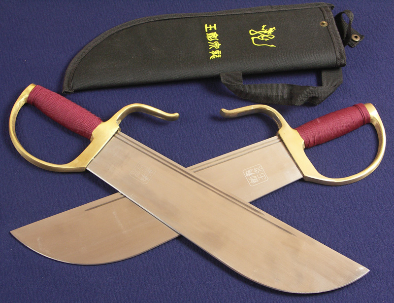 Wing Chun Double Butterfly Knives