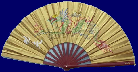Gold Dragon Taiji & Kung Fu Fan