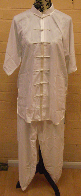 White Cotton Suit